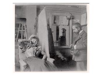 ภาพถ่ายมิซา กับตูลูส์-โลแทร็ค