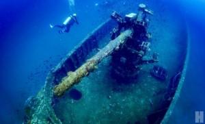"""ดำน้ำที่  """"เรือหลวงปราบ"""" ปลุกจินตนาการจากซากเรือรบ พร้อมลุ้นทักทายฉลามวาฬ"""