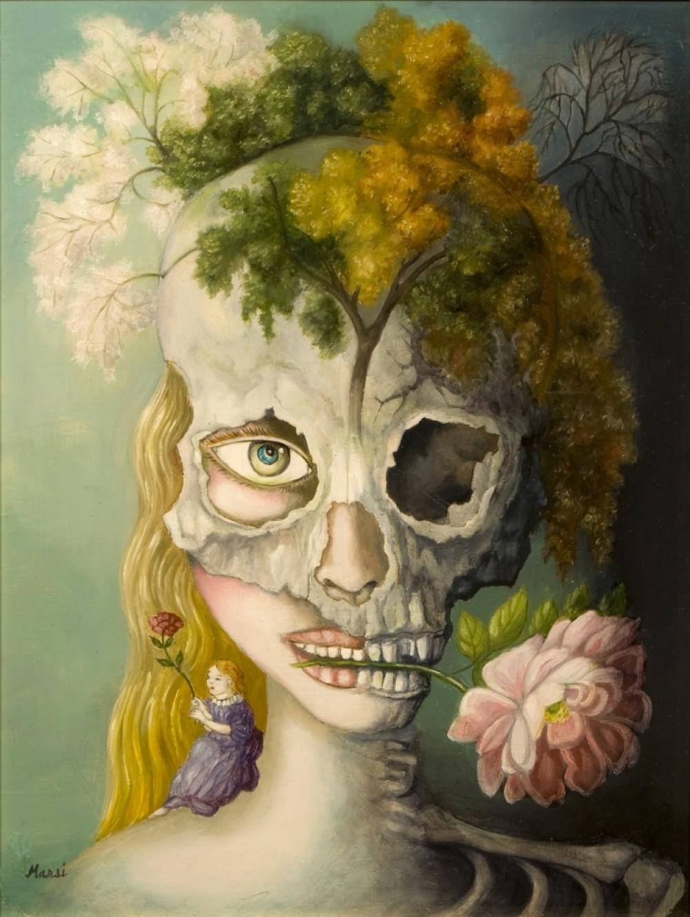 """งานศิลป์ส่อง (จิต) วิญญาณ  """"ความงามและความน่าเกลียด: สุนทรียศิลป์แห่งมารศี"""""""