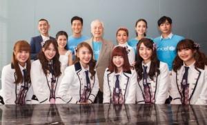 ซีวอน เป๊ก-ผลิตโชค BNK48 นำทีมเปิดตัวรายการเพื่อเยาวชนโดย UNICEF