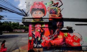 """5 จุดเช็คอิน """"สตรีทอาร์ต"""" เสพงานศิลป์สะท้อนปัญหาเด็กในประเทศไทย"""