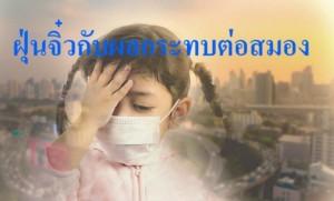 """PM2.5 """"ฝุ่นจิ๋ว"""" ที่ไม่จิ๋วกับผลกระทบทางสมอง"""