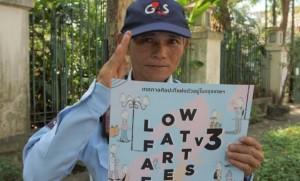 เริ่มแล้ว การผจญภัยทางศิลปะริมฝั่งธนฯ ในเทศกาล Low Fat Art Fes Vol.3