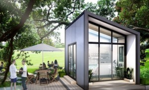"""Blox นวัตกรรม """"บ้านเหล็ก"""" สร้างเสร็จได้ในวันเดียว"""