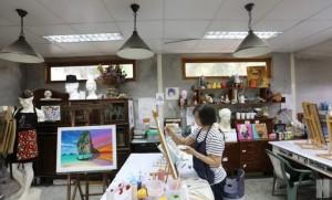 Pop Artบ้าน36 โรงเรียนศิลปะที่สอนตั้งแต่เด็กเล็กไปจนถึงผู้ใหญ่วัยเลยเจ็ดสิบ