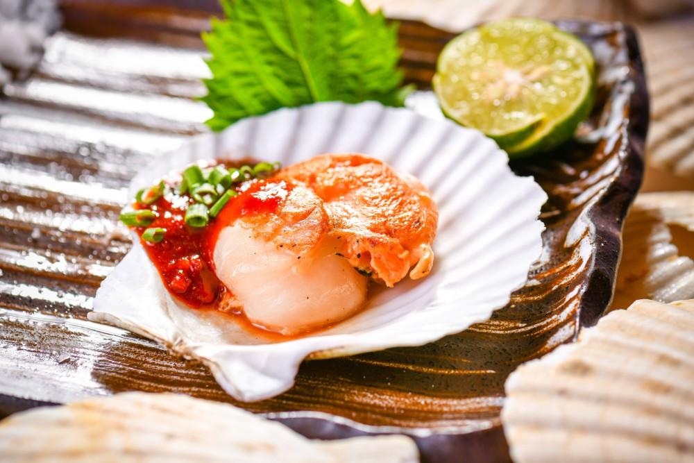 เมนูพิเศษจากหอยเชลล์ฮอกไกโดนำเข้าตรงจากประเทศญี่ปุ่น ที่ดิ โอกุระ เพรสทีจ กรุงเทพฯ