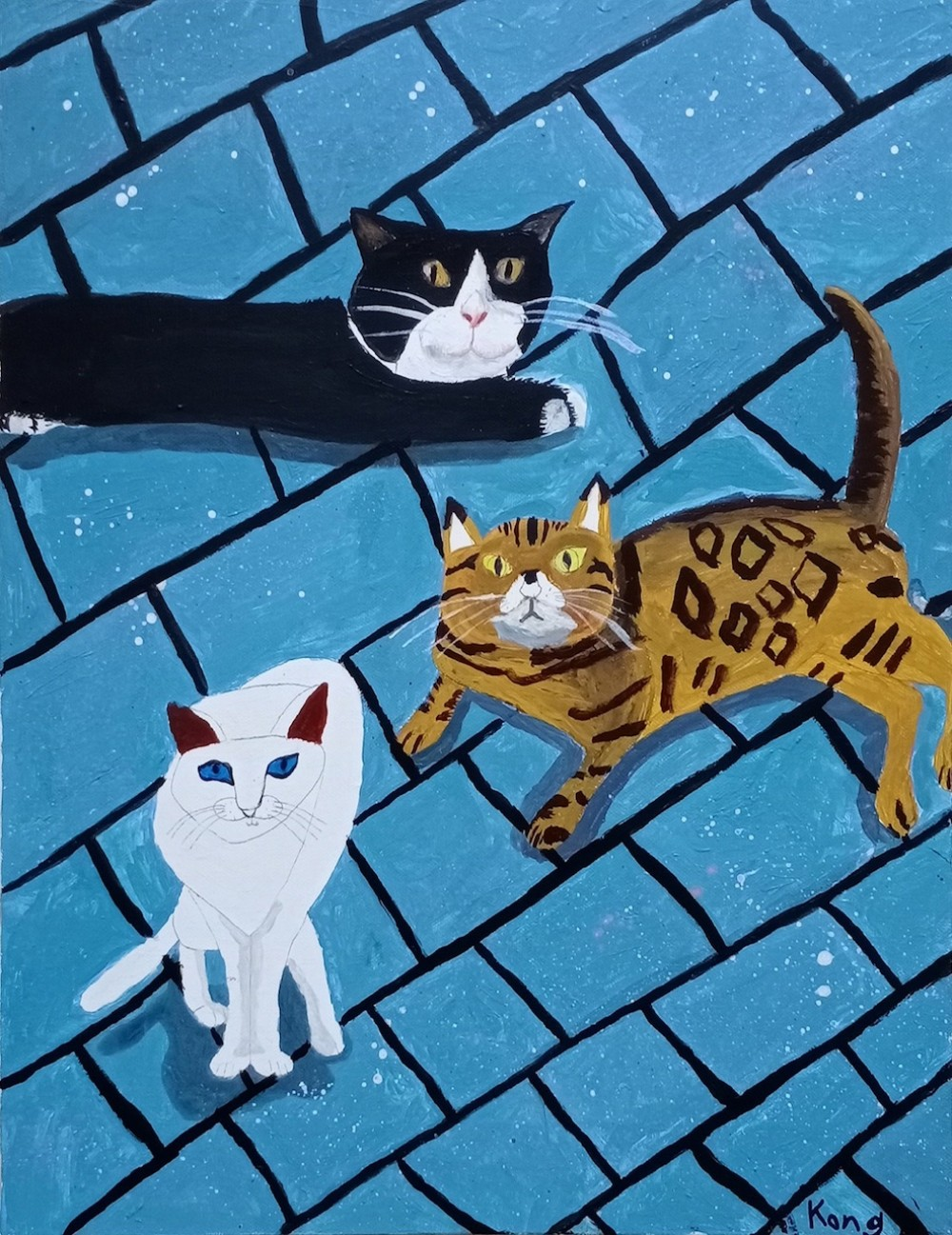 """""""My Way"""" โดยศิลปินจากมูลนิธิออทิสติกไทย และมูลนิธิ ณ กิตติคุณ"""