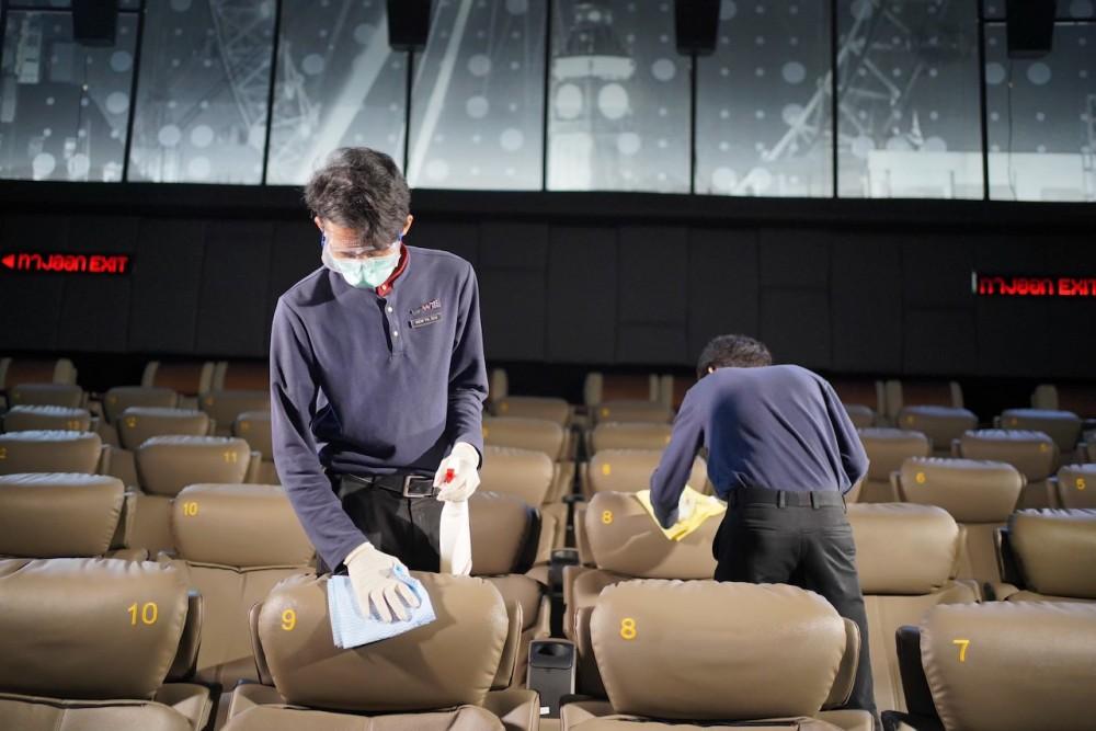 """เอส เอฟ พร้อมเปิดโรงภาพยนตร์ จัดมาตรการ """"ดูแลด้วยใจ"""" สร้างความมั่นใจ หลังรัฐบาลผ่อนปรน เฟส 3"""