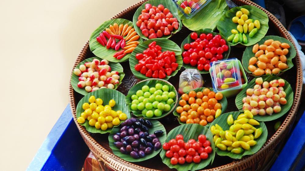 ขนมลูกชุบ. Thai snack