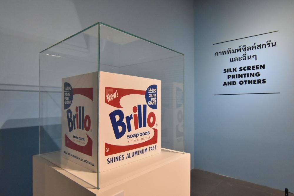 pop art Warhol in Bangkok