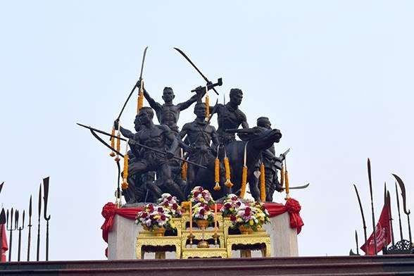 Singburi Monument Bangrajan