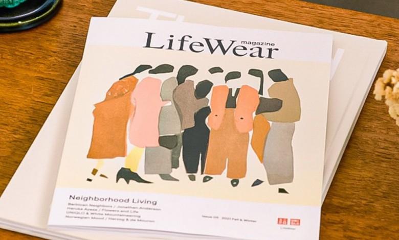 เป็นเจ้าของนิตยสารLifeWear magazine Fall/Winter 2021 ของยูนิโคล่ ได้แล้ววันนี้