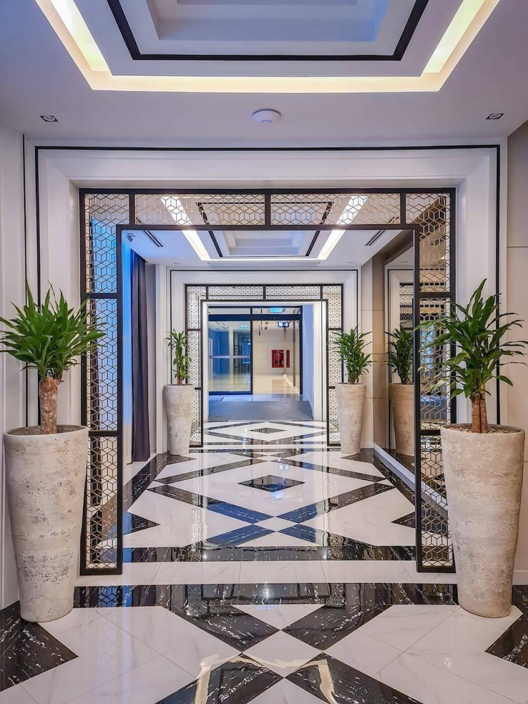 Hallway at Mandarin Eastville