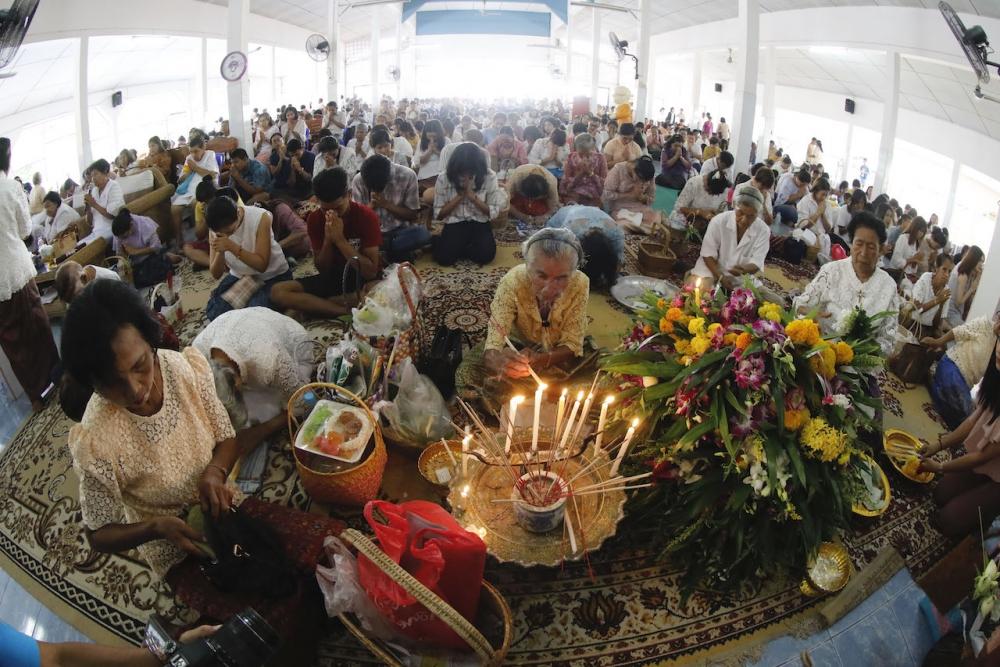 10th Month Merit Making Nakhon Sri Thammarat Thailand South